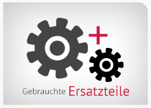 gebrauchte Ersatzteile für Gabelstapler / Flurförderzeuge. Kaufen bei ESS in Bischberg / Bamberg.